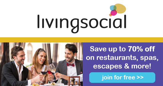 Sign Up with Livingsocial for Up to 70% Off Deals