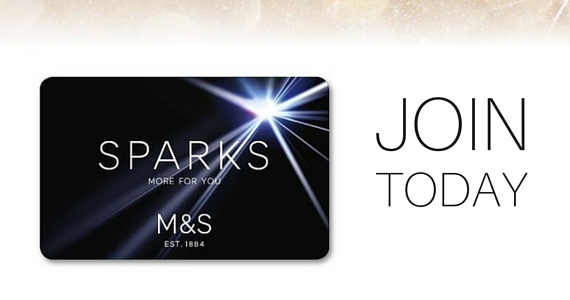 Start Earning Points with the Sparks M&S Rewards Card