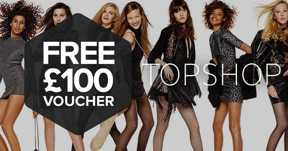 Here's How to Get a Free £100 Topshop Gift Card