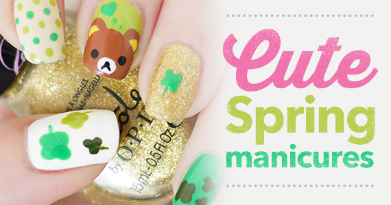 Try One of These Cute Spring Manicures