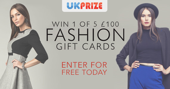 Win a £100 High-Street Fashion Gift Card
