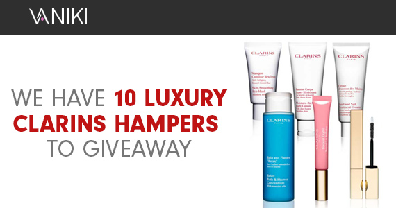 10 Clarins Beauty Hampers to Give Away