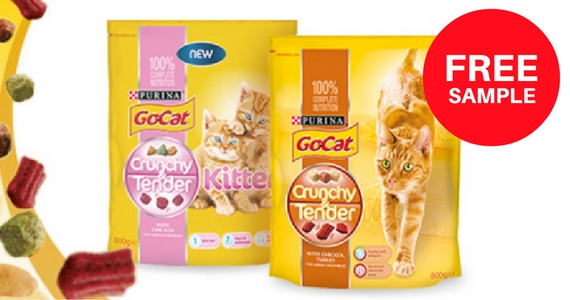 Free Sample of Go-Cat Crunchy & Tender