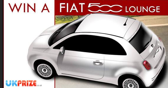 Win a Fiat 500 1.2 Lounge