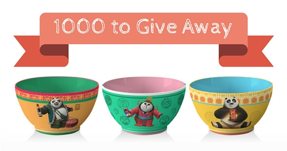 1000 Kung Fu Panda 3 Noodle Bowls to Give Away