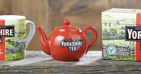Sign Up with Yorkshire Tea to Get Free Samples & More