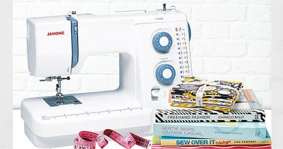Win a Janome Sewist Sewing Machine & Accessories