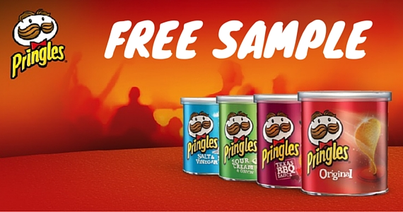 25,000 Free Cans of Pringles Up for Grabs