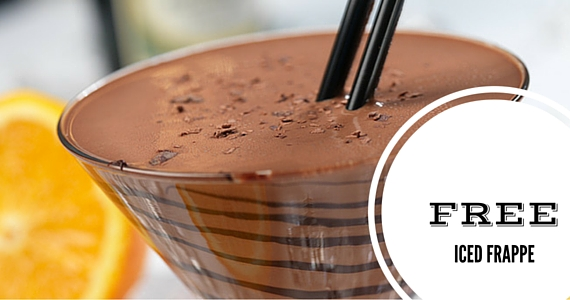Free Iced Frappe from Hotel Chocolat