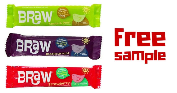 Free Sample of Braw Food Bars