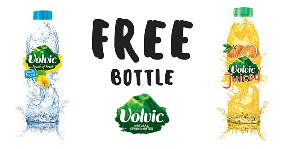 Free Bottle of Volvic Mineral Water with Promo Purchase