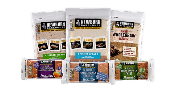 Free Sample of Newburn Bakehouse Gluten Free Wraps