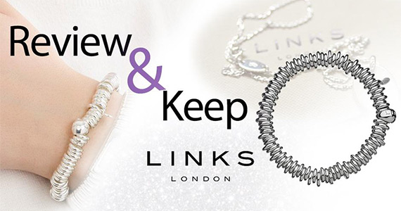Test & Keep a Free Links of London Bracelet