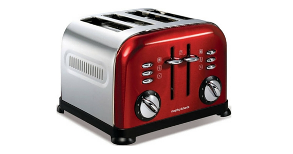 Win a Morphy Richards 3-Slice Toaster