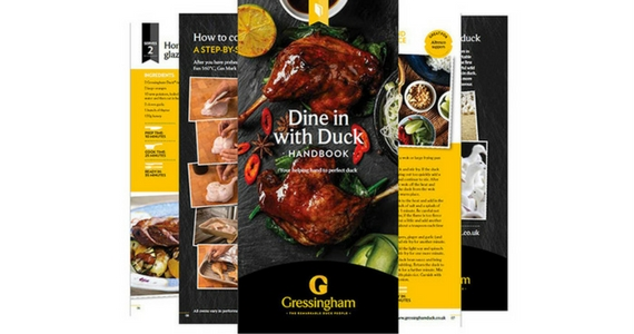 Free Recipe e-Book from Gressingham Duck