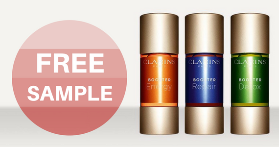 Free Sample of Clarins Boosters