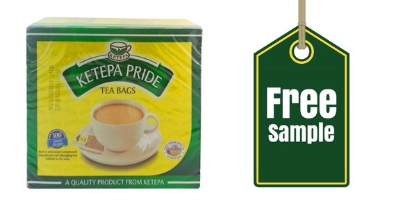 Free Sample of Ketepa Pride Tea Bags