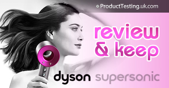 Test and Keep a Free Dyson Supersonic Hair Dryer