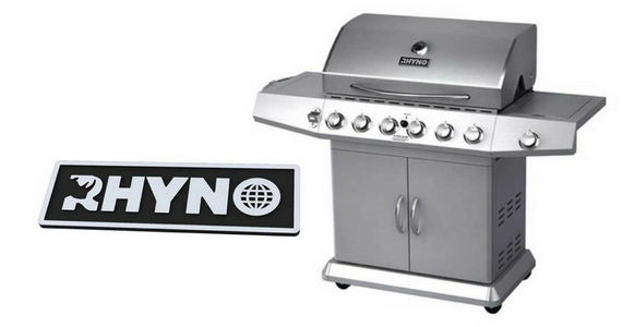 Win a RHYNO Stainless Steel Gas BBQ Worth £599