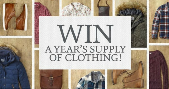 Win a Year's Supply of Clothing from FatFace