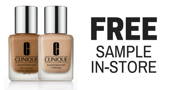 Free Sample of Clinique Superbalanced Silk Makeup