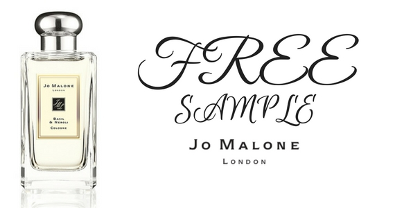 Free Sample of Jo Malone Basil and Neroli Fragrance