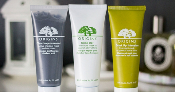 Visit Origins to Get 3 Free Samples