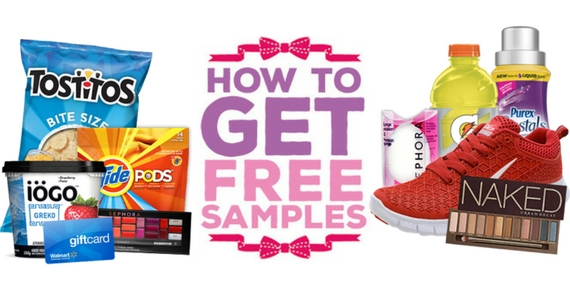 How to Start Receiving Free Samples