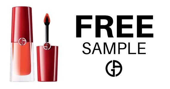 Claim a Sample of Giorgio Armani Lip Colour