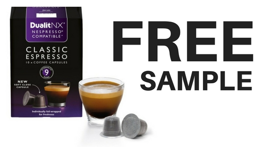 Free Dualit Nespresso Coffee Capsule Pack