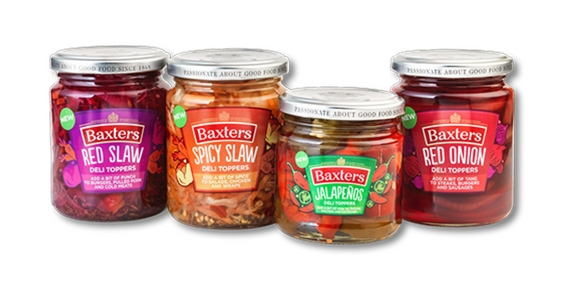 Free Jars of Baxters Deli Toppers to Give Away