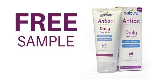 Free Salcura Antiac Daily Face Wash Worth £9.99