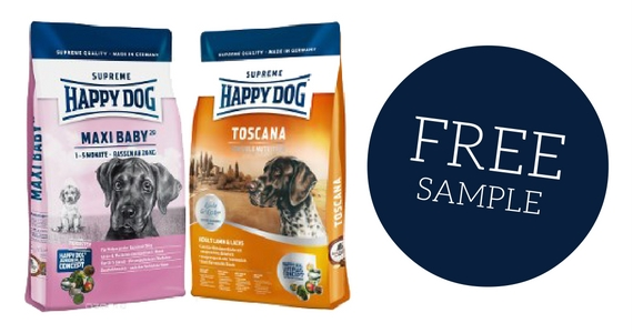 Free Sample of Happy Dog Food
