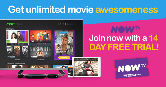 Free 14-Day Trial of Now TV