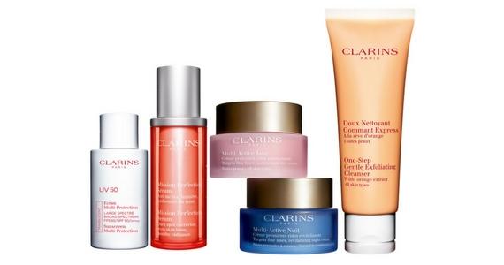 Win 1 of 3 Clarins Multi-Tasking Beauty Kits