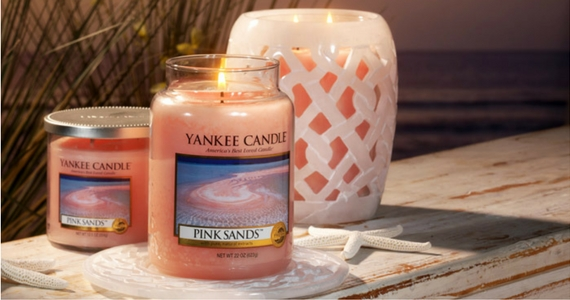 Win a Pink Sands Yankee Candle