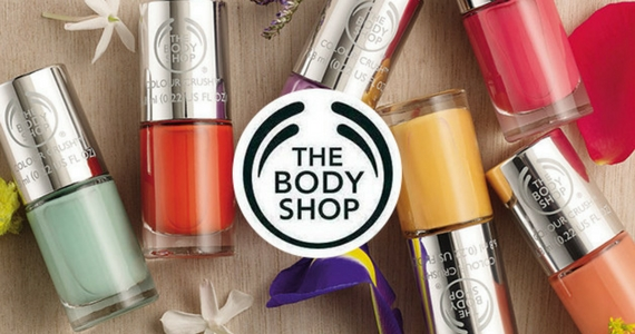 Free Colour Crush Nail Varnish from The Body Shop