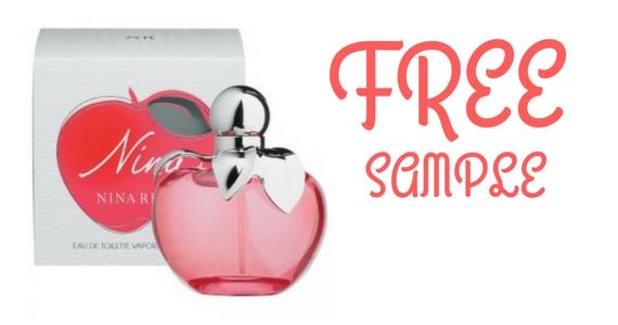Free Sample of Nina Ricci Perfume