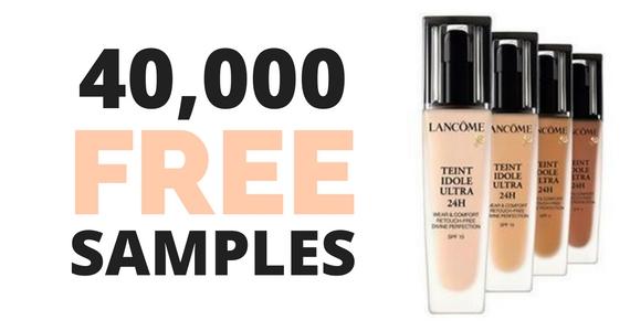 Free Travel Size Sample of Lancome Foundation
