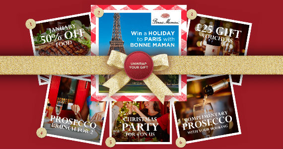 Instant Freebies from Cafe Rouge