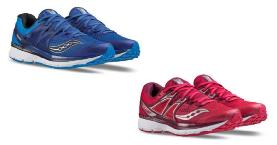 Win 2 Pairs of Saucony Triumph ISO 3 Trainers