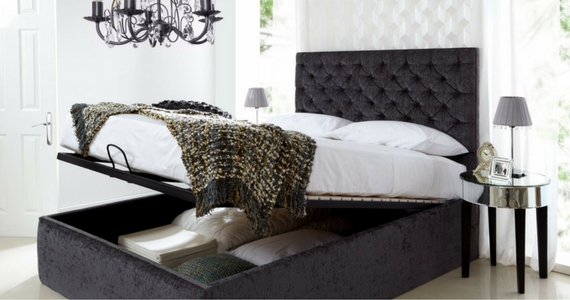 Win a Trend Bedrooms King-Size Ottoman Bed