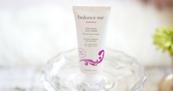 100 Balance Me Radiance Face Masks to Give Away