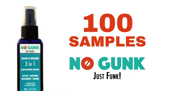 100 Free Samples of No Gunk Styling Spray for Men