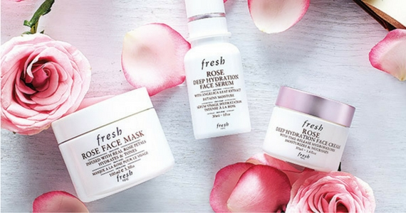 100 Free Sample Packs of Rose Skincare from Fresh