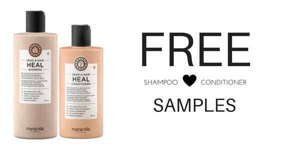 Try Free Samples of Heal Shampoo and Conditioner