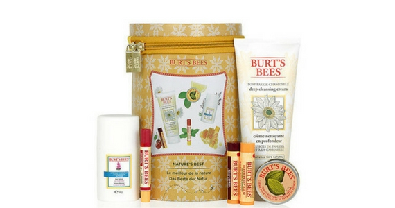 Win a 6-Piece Burt's Bees Nature's Best Gift Set