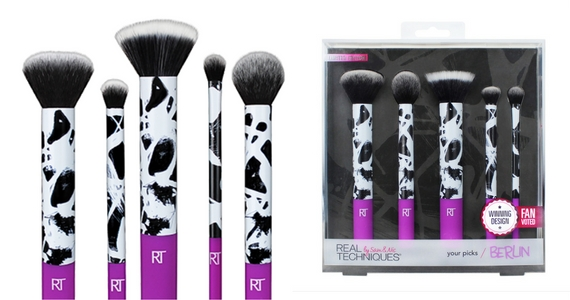 Win a Limited Edition Real Techniques Makeup Brush Set