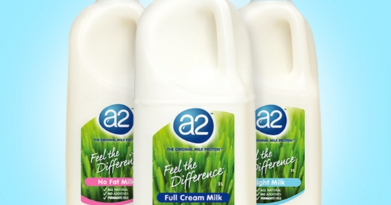 Voucher for a Free 1L Bottle of A2 Milk