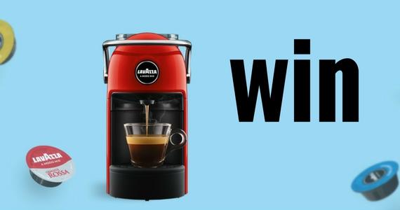 Win 1 of 5 Lavazza Jolie Coffee Machines